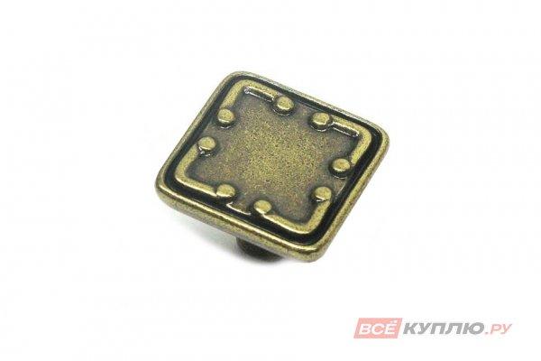 Ручка-кнопка мебельная Giusti WPO669 французская бронза