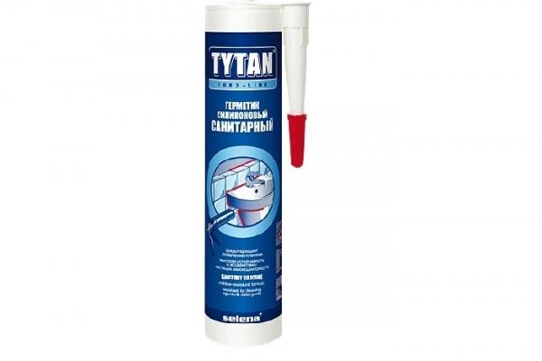 Герметик силиконовый Санитарный TYTAN EVRO-LINE бесцветный 290 мл