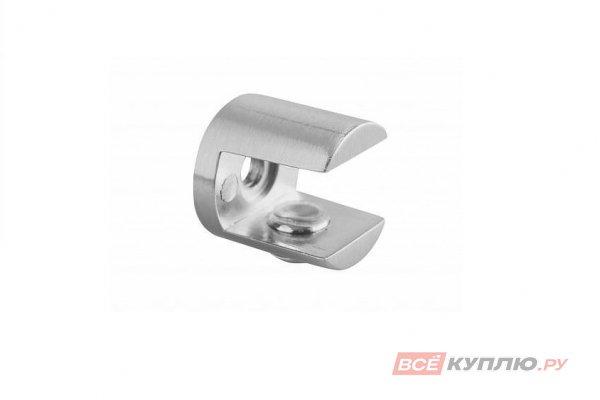 Полкодержатель J65 для стеклянных полок 10 мм хром