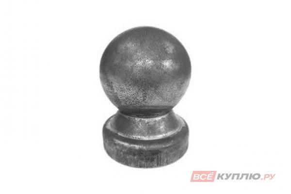 Наконечник на столб 40 мм ≠1 мм штампованный на круглую трубу (3114/1)