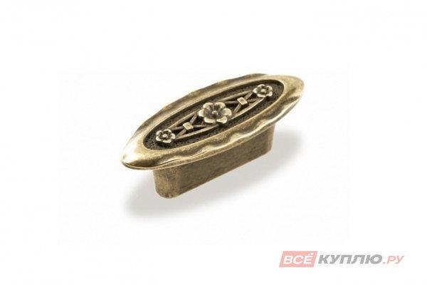 Ручка-кнопка мебельная FM-086 032 бронза полированная (TS)