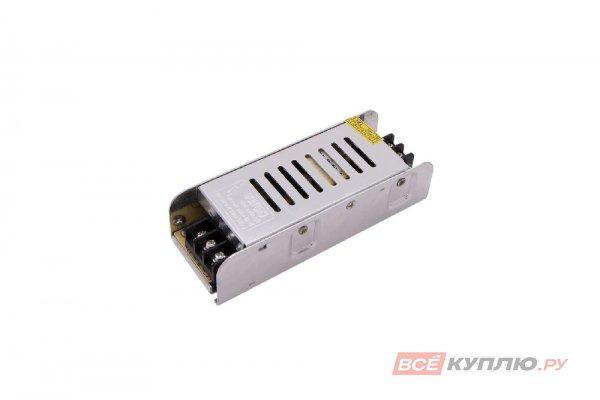 Блок питания для светодиодов 220/24V 60W, IP20, компактный (узкий) (14596)