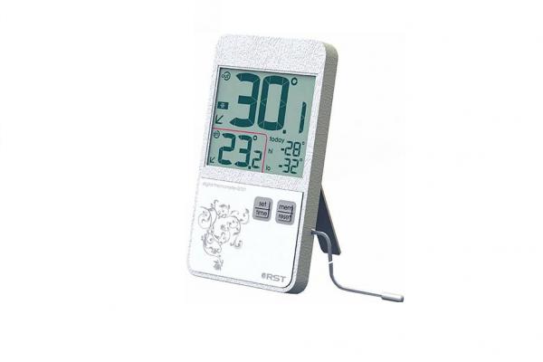 Термометр цифровой белый