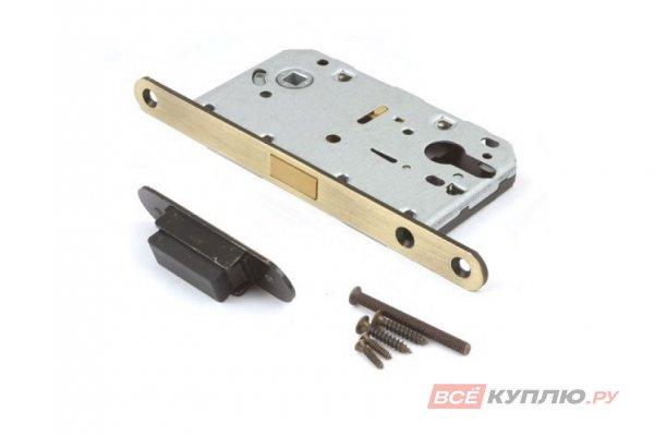 Замок врезной магнитный Апекс 5300-MС-AB бронза