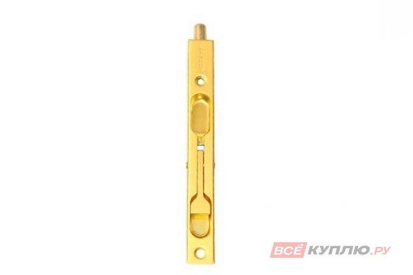Шпингалет врезной Апекс FB-01-140-GM матовое золото