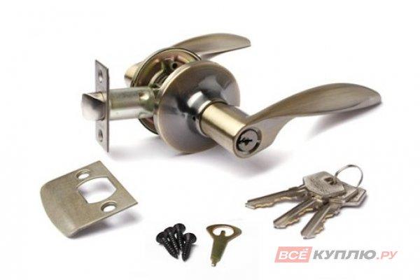 Защёлка Апекс 8020-01-AB  ключ/фиксатор бронза