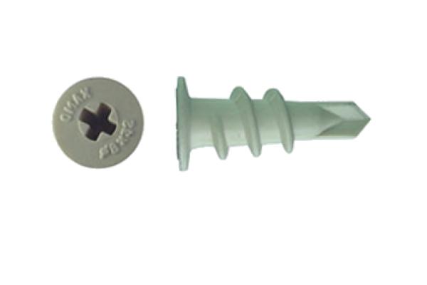 Дюбель для крепления гипсокартона DRIVA пластиковый со сверлом 15*23 мм