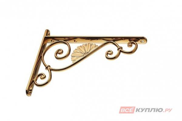 Полкодержатель Barocco B 18 см античное золото