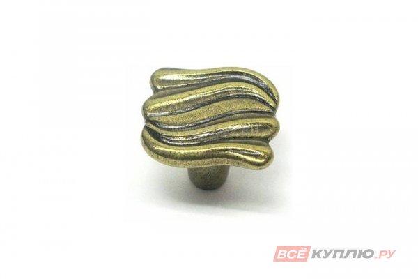 Ручка-кнопка мебельная Giusti WPO695 французская бронза