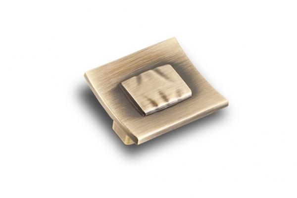 Ручка-кнопка мебельная бронза (RK-030 ВА)