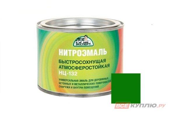 """Эмаль НЦ-132M """"Эксперт"""" зеленая 1,7 кг"""