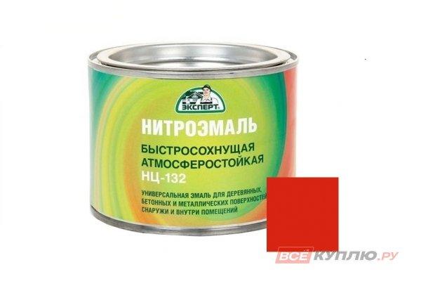 "Эмаль НЦ-132M ""Эксперт"" красная 1,7 кг"