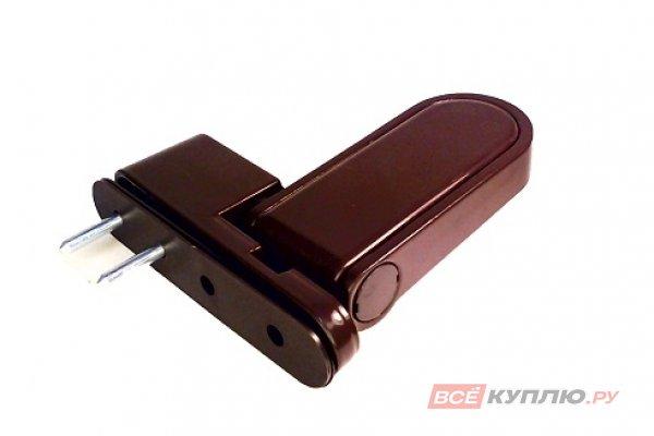 Петля дверная регулируемая H22 Door Line 120 кг коричневая
