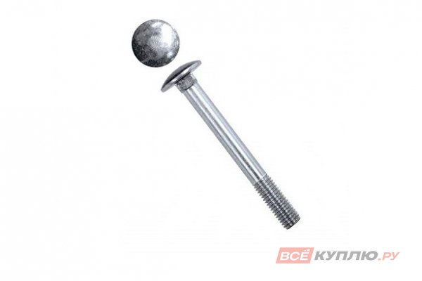 Болт мебельный DIN 603 10*80 мм