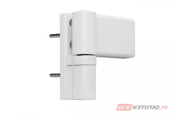 Петля дверная регулируемая DHN 120 кг белая