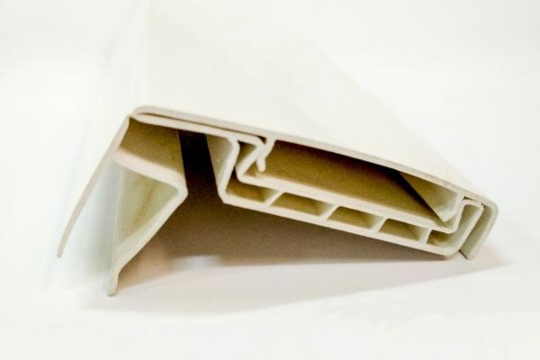 Наличник для откосов ПВХ белый 80 мм