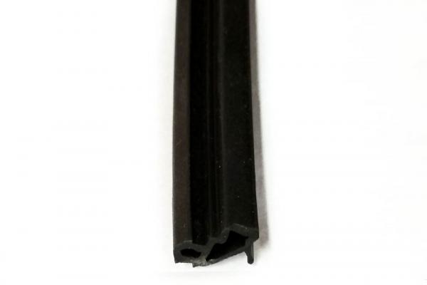 Уплотнитель для пластиковых окон черный KBE