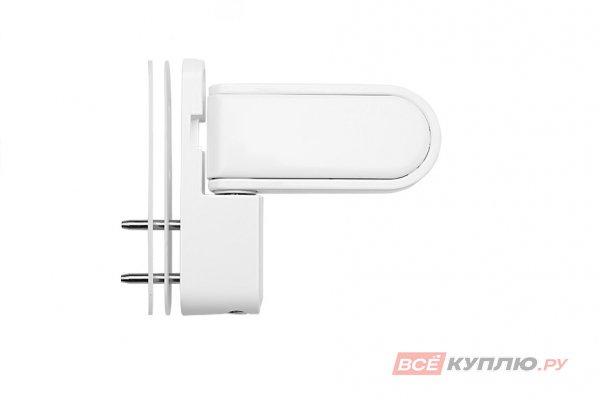 Петля дверная регулируемая H22 Door Line 120 кг белая
