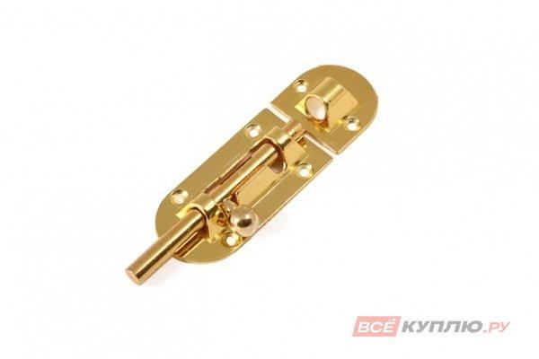 Шпингалет АЛЛЮР G-021С золото 2 шт (9580)