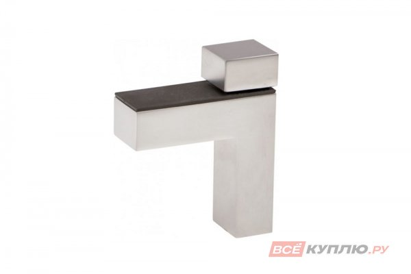 Полкодержатель мебельный PP-00GS04 матовый хром