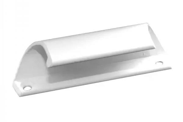 Ручка балконная алюминивая белая