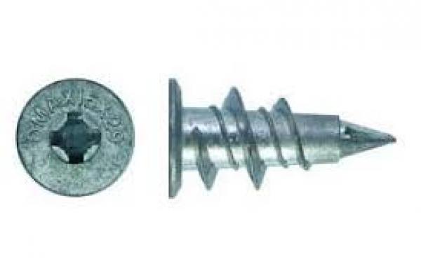 Дюбель для крепления гипсокартона DRIVA металлический 14*28 мм