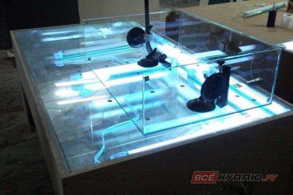 УФ склейка стекла 3-4 мм (цена руб./п.м.)
