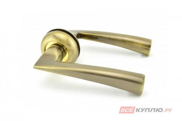 Ручка дверная Feretta 580 бронза/золото
