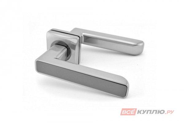 Ручка дверная Feretta 609 SN/CP никель/хром