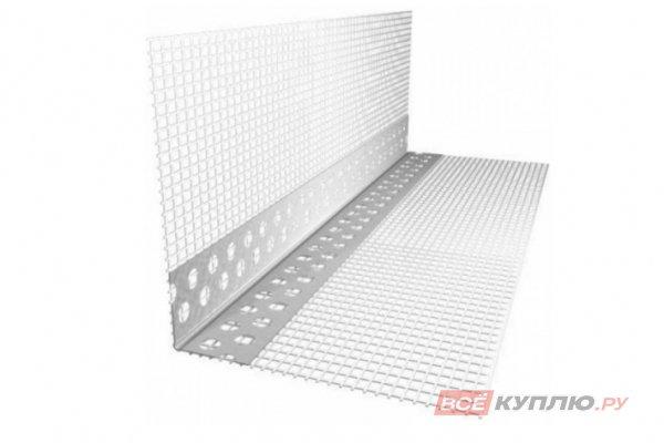 Профиль углозащитный для мокрого фасада ПВХ с сеткой 10*15 см