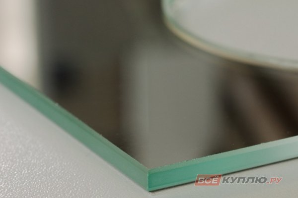 Обработка кромки (шлифовка) на прямолинейных изделиях зеркала (руб./п.м.)