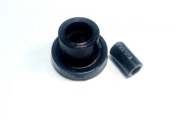 Колесо прорезиненное 42*18 8 м с симметричной ступицей