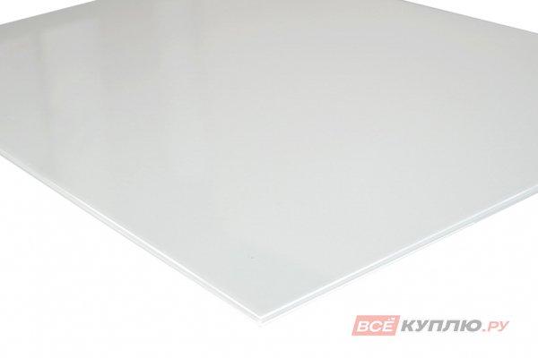 Стекло Lakobel белое осветленное (RAL 9003) 2550*1605*4 мм (цена за лист)