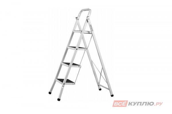 Лестница-стремянка СИБИН стальная c широкими ступенями 4 ступени (38807-04)