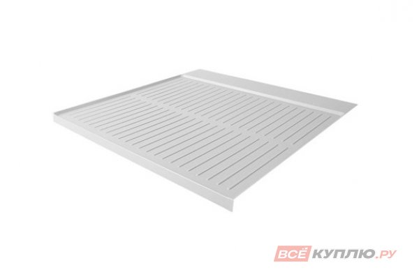 Поддон гигиенический в базу 450/16 отделка под алюминий (900/0417/МС)