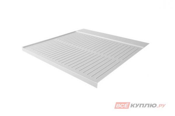Поддон гигиенический в базу 600/16 отделка под алюминий (900/0567/МС)