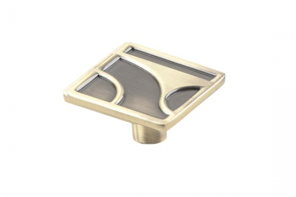 Ручка-кнопка мебельная бронза (RK-032 ВА)