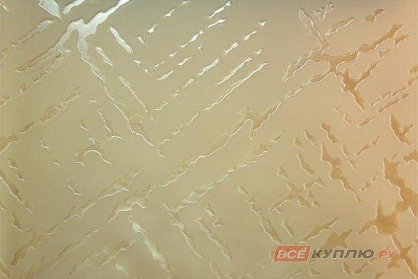 Стекло узорчатое матовое бронза Сантук 2550*1605*4 мм (цена за лист)