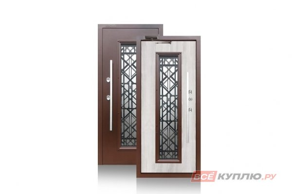 Дверь металлическая уличная Аргус с терморазрывом «ТЕПЛО-БРИАН»