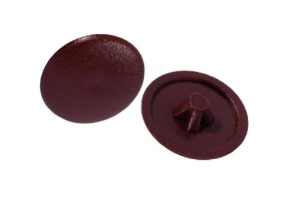 Заглушки на саморезы №2 махагон (100 шт)